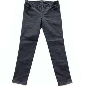 Torrid Black Slim Skinny Leg Jeans Womens Size 16